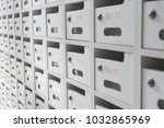 background of entrance mail...   Shutterstock . vector #1032865969