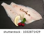 Small photo of Raw Flounder fillet