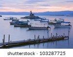Lake Chapala Islet With Jesus...