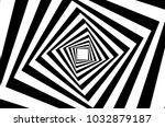 rotating concentric squares ... | Shutterstock .eps vector #1032879187