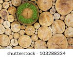 Stacked Logs With Recycle...