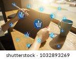 e commerce. internet shopping....   Shutterstock . vector #1032893269