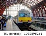 antwerp  belgium   february 21... | Shutterstock . vector #1032895261