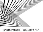 black straight lines abstract... | Shutterstock .eps vector #1032895714