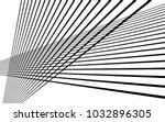 black straight lines abstract... | Shutterstock .eps vector #1032896305