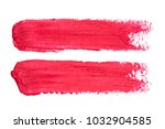 photo of red lipstick smudges...   Shutterstock . vector #1032904585