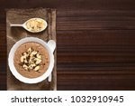 chocolate oatmeal or oat...   Shutterstock . vector #1032910945