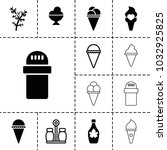flavor icons. set of 13...   Shutterstock .eps vector #1032925825