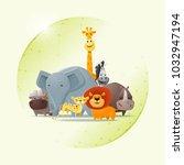 environmental conservation... | Shutterstock .eps vector #1032947194