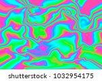 close up of iridescent... | Shutterstock . vector #1032954175