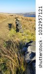 Small photo of Withens Clough Reservoir, above Cragg Vale, Calderdale, West Yorkshire, UK