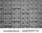 tactile paving bricks with... | Shutterstock . vector #1032959779