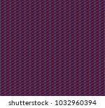 isometric grid. vector seamless ... | Shutterstock .eps vector #1032960394