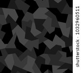 seamless camouflage geometric... | Shutterstock .eps vector #1032960511