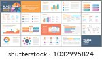 presentation template design.... | Shutterstock .eps vector #1032995824