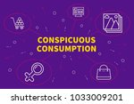 conceptual business... | Shutterstock . vector #1033009201