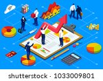 financial administration... | Shutterstock .eps vector #1033009801