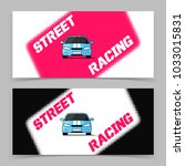 banner design with street... | Shutterstock .eps vector #1033015831