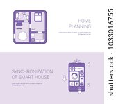 home planning and... | Shutterstock .eps vector #1033016755