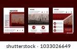 city brochure infographic | Shutterstock .eps vector #1033026649