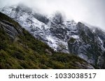 scenery at milford sound  south ... | Shutterstock . vector #1033038517