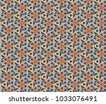 seamless geometric pattern with ...   Shutterstock .eps vector #1033076491