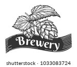 vector illustration of a beer... | Shutterstock .eps vector #1033083724