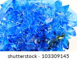 Chalcanthite mineral - stock photo