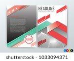 abstract modern background ... | Shutterstock .eps vector #1033094371