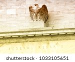 federal reserve building in...   Shutterstock . vector #1033105651