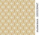 golden mesh seamless pattern.... | Shutterstock .eps vector #1033130467