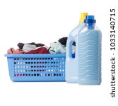 laundry basket dirty wash clean ... | Shutterstock . vector #1033140715