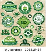 collection of vintage retro... | Shutterstock .eps vector #103315499