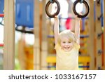 little boy having fun on...   Shutterstock . vector #1033167157