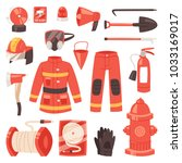Firefighter Vector Firefighting ...