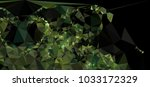 low polygonal mosaic layout for ... | Shutterstock .eps vector #1033172329