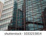 modern office building detail ... | Shutterstock . vector #1033215814