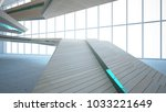 abstract  concrete and wood... | Shutterstock . vector #1033221649