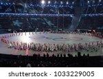 pyeongchang  south korea ... | Shutterstock . vector #1033229005
