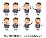 professional staff set | Shutterstock .eps vector #1033230229