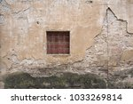 small square window with rebar... | Shutterstock . vector #1033269814