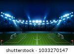 football arena field with... | Shutterstock .eps vector #1033270147