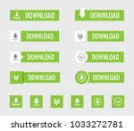 download button vector set