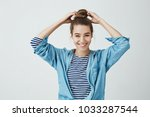 student is ready to start... | Shutterstock . vector #1033287544