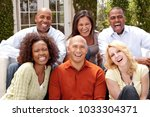 diverse ethnic group of people... | Shutterstock . vector #1033304371