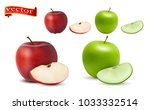 highly realistic vector ripe... | Shutterstock .eps vector #1033332514