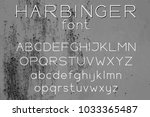 wide sans serif vector font...   Shutterstock .eps vector #1033365487