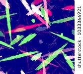 watercolor dry brush stripes in ... | Shutterstock .eps vector #1033366921