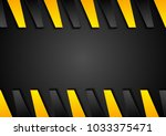 abstract black and orange... | Shutterstock .eps vector #1033375471