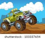 Off Road Cartoon Car